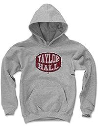 500レベルのテイラーのホールKids Youth Hoodie – New JerseyホッケーファンギアNHLの公式ライセンス選手Association – Taylor Hall Puck R