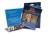U.S. Presidents Go Fish with History Book [並行輸入品]