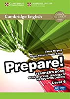Cambridge English Prepare! Level 6 Teacher's Book with DVD and Teacher's Resources Online