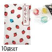 キャンディー 飴 プチギフト おかし玉 いちご 10個セット AR0211054