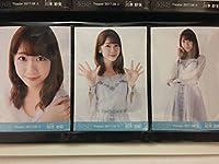 AKB48 2017 August 8月① 月別 生写真 柏木由紀 3種コンプ