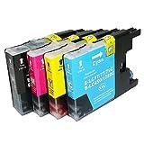 4色 セット LC17 - 4PK ≪ BROTHER ブラザ- ≫ LC 17 BK / C / M / Y  ( 4色 ) 互換 インク カ-トリッジ