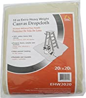 Galaxy Products Paintessentials Canvas Drop Cloth 20'X20' 10Oz by Galaxy Products