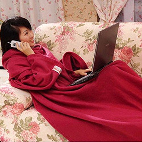 LaPaul 着る毛布 ブランケット メンズ レディース 軽...