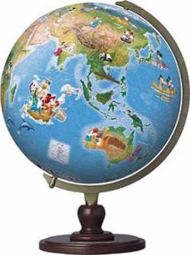 3D球体パズル ディズニー 960ピース ファンタスティックグローブ (世界遺産) (直径約30.5cm)