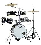 Pearl パール ドラムセット リズムトラベラー(Version 3S) #ジェットブラック RT-645N/C #31