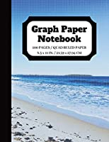Graph Paper Notebook: Squared Graphing Paper | Quad Ruled | 5 squares per inch | 100 pages | 8.5 x 11 in. (graph paper composition notebook)