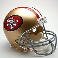 Riddell Speed ポケット フットボール ヘルメット - サンフランシスコフォーティナイナーズ (San Francisco 49ers)