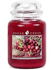 Goose Creek ES26397 24 oz Essential Cranberry Jar Candle