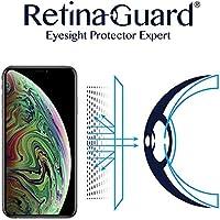 RetinaGuard iPhone XR ブルーライト90%カット強化ガラス (保護フィルム)