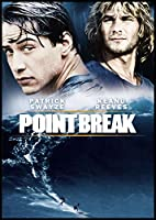 Point Break Fridge Magnet 3.5 x 5 Keanu Reeves Movie Poster Magnetic Canvas Print by Fridge Magnet World