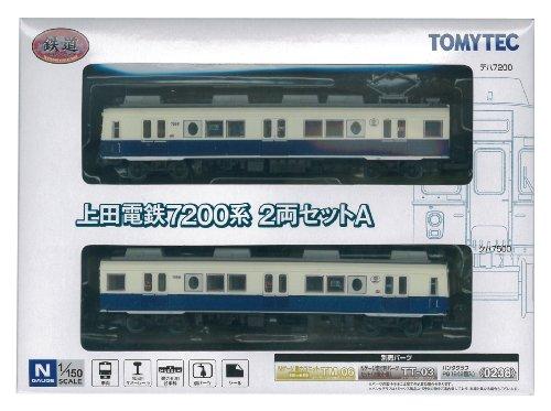 鉄道コレクション 鉄コレ上田電鉄7200系 2両セットA