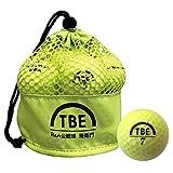 【Amazon.co.jp 限定】トビエモン(TOBIEMON) ゴルフボール R&A公認球 2ピース 12球入 オリジナルメッシュバック入 イエロー