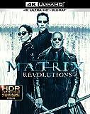 マトリックス レボリューションズ 日本語吹替音声追加収録版  4K ULTRA HD&HDデジタル・リマスター ブルーレイ(3枚組) [Blu-ray]