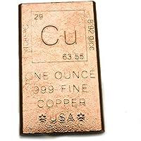 銅 カッパー/コッパー インゴット 銅の延べ棒