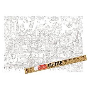 マルアイ 塗り絵 NuRIE TOKYO TO...の関連商品5