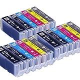 インクのチップスオリジナル製品 キヤノン用 BCI-351XL+350XL/6MP 互換インク 6色 3セット フラストレーションフリーパッケージ FFP
