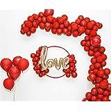 ルビーバルーンアーチパッケージ結婚の手配バルーンのシーンロマンチックな装飾バルーンガーランド
