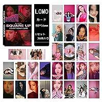 BLACKPINK ブラックピンク SQUARE UP LOMOカード30枚 ※韓国店より発送の為、お届けまでに約2週間