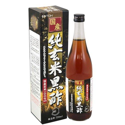 井藤漢方製薬 国産純玄米黒酢 720ml
