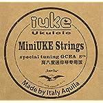 iUke(アイユーク) ピッコロウクレレ専用弦 Aquilaナイルガット製 SR-IUKE