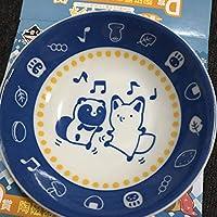 一番くじ タヌキとキツネ ~かまくらであったかほっこり~ D賞 陶磁器コレクション 青