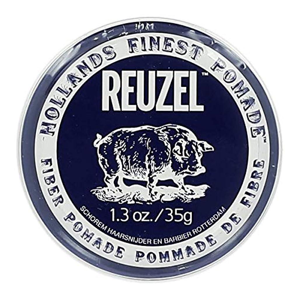 トレイしかし夫ルーゾー ネイビー ファイバー ポマード Reuzel Navy Fiber Pomade 35 g [並行輸入品]