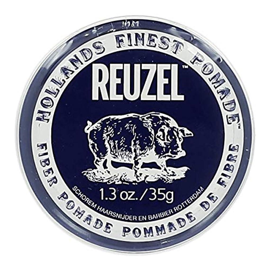 時々時々証言するパンツルーゾー ネイビー ファイバー ポマード Reuzel Navy Fiber Pomade 35 g [並行輸入品]