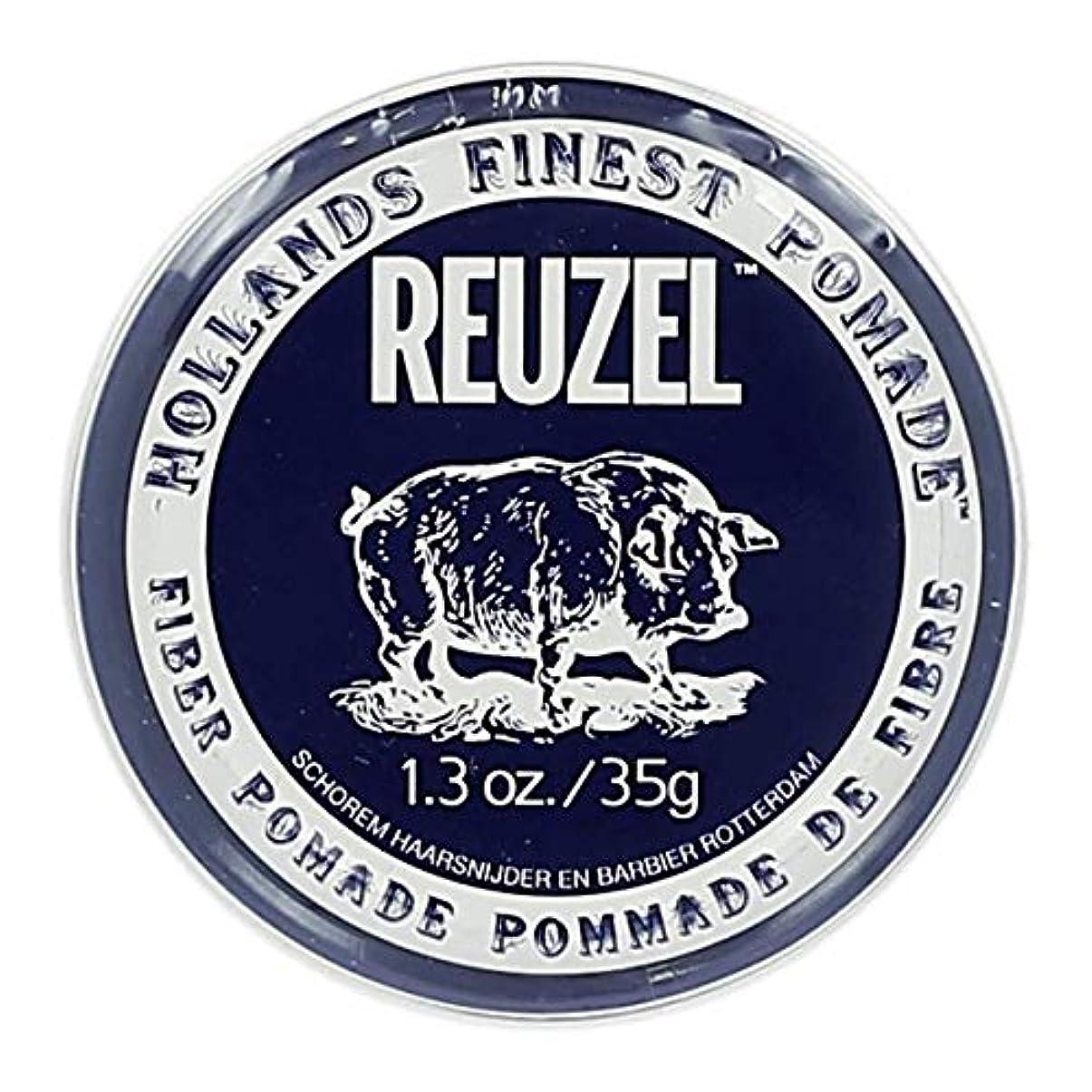 不足受け入れ熱帯のルーゾー ネイビー ファイバー ポマード Reuzel Navy Fiber Pomade 35 g [並行輸入品]