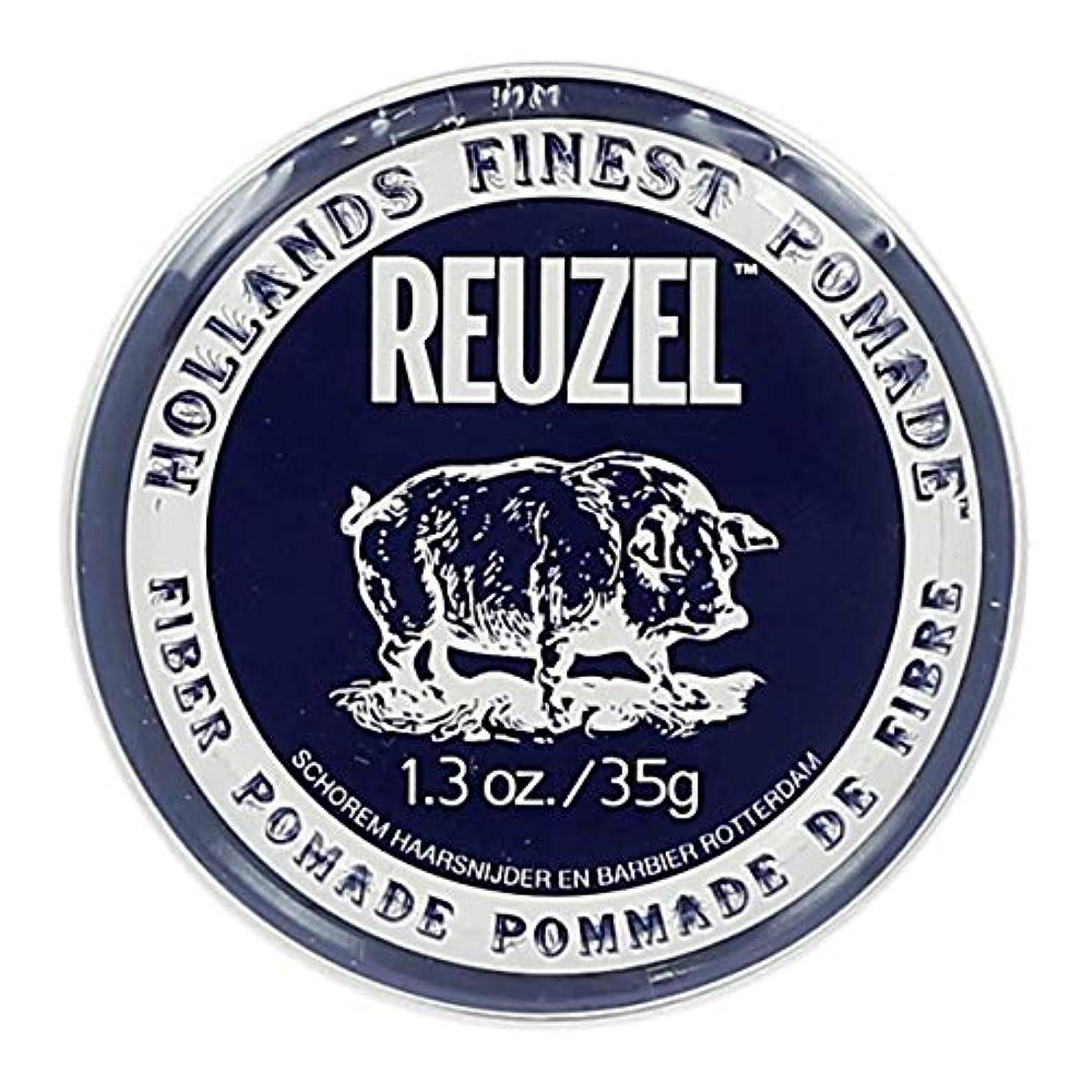 準備ができて変位約設定ルーゾー ネイビー ファイバー ポマード Reuzel Navy Fiber Pomade 35 g [並行輸入品]