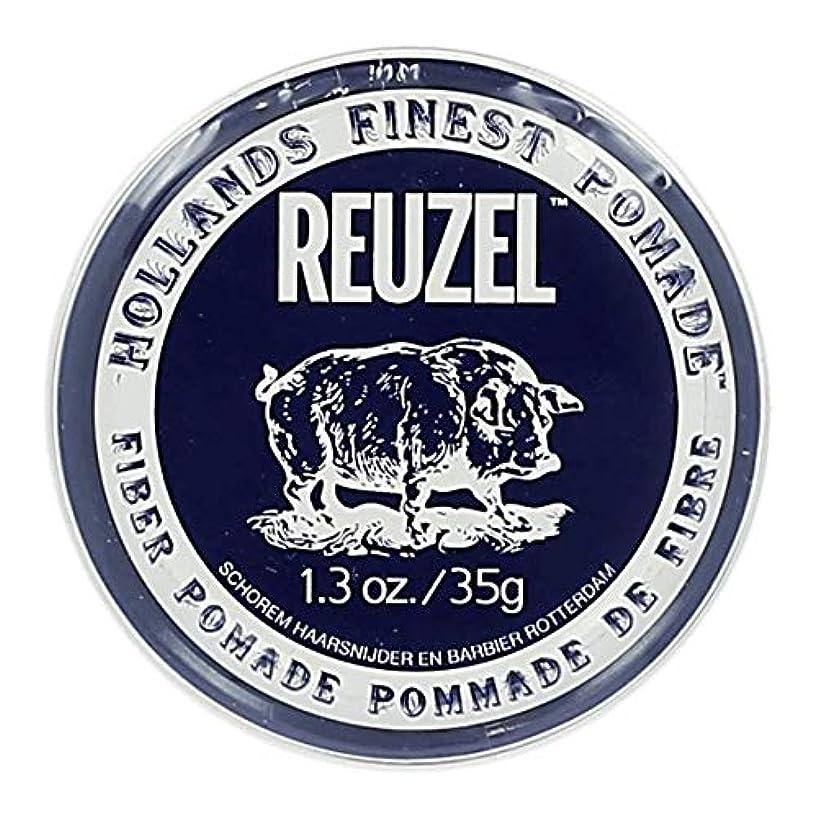 しっとり運賃明示的にルーゾー ネイビー ファイバー ポマード Reuzel Navy Fiber Pomade 35 g [並行輸入品]