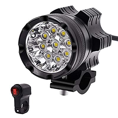 Leorealko 7 motorcycle headlight motorcycle headlight motorcycle headlight bulb h4 led headlight bulb motorcycle LED Motorcycle Headlight Waterproof Bulb Low Consumption Motorcycle Headlamp with Switch