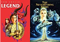 Classic Children's Fantasy Films: Legend (Alternate Limited Edition Pop Art Cover) + The Never-ending Story (DVD Imagination Movie Bundle)【DVD】 [並行輸入品]