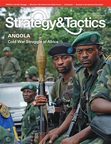 Dcg :戦略&戦術Magazine # 290、アンゴラwith、Cold Warアフリカで、ボードゲーム