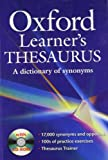 Oxford Learners Thesaurus: A Dictionary of Synonyms [ペーパーバック]