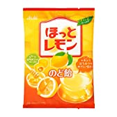 アサヒグループ食品 ほっとレモンのど飴 88g×6袋