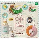 カプセルコレクション cafe de ハム Sweet 全6種セット ガチャガチャ