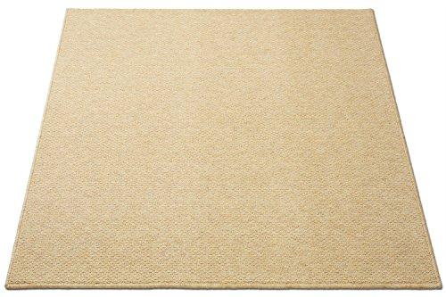 防音対策マット キッズラグ  ゴールドベージュ 100×10...