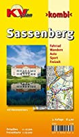 Sassenberg 1 : 12 500: Stadtplan incl. Hausnummern und Gehoeftnamen. Freizeitkarte 1 : 25.000 incl. Radroutennetz (Radelpark Muensterland), Nordic-Walking-Strecken und Reitwegen