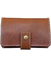 LITSTA Coin Wallet(BROWN/型押し)