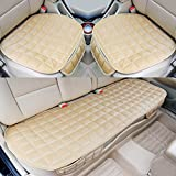 PDR カー用品 カーシートカバー シートクッション 座布団 座席シート 3枚組