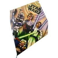 STAR WARS CLONE WARS ANAKIN Obi - Wan and Childrens SkySled Kite ( 24インチ)