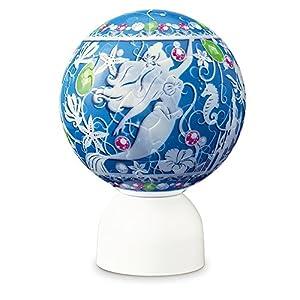 60ピース ジグソーパズル 光る球体パズル パズランタン リトル・マーメイド ビジュー-アリエル-