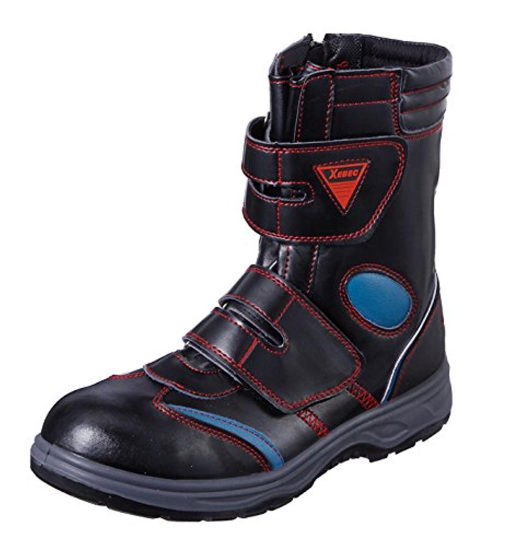 (ジーベック) XEBEC セーフティシューズ 安全靴 スタイリッシュ ハイカット (85204-xe) レッド  29.0㎝