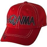 本間ゴルフ HONMA 帽子 キャップ 591-317621 レッド フリー