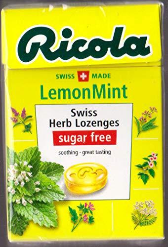 リコラ レモンミントハーブキャンディー シュガーフリー 45g x5個