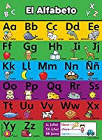 ABC Alphabet Spanish Poster Chart - LAMINATED - Espa?ol Alfabeto - Abecedario (18 x 24 LAMINATED) [並行輸入品]