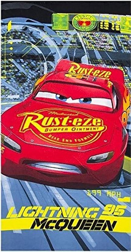 国民ストッキング毛皮2753 ディズニー カーズ Disney Cars ビーチタオル バスタオル 吸水性抜群 70cm×140cm [並行輸入品]