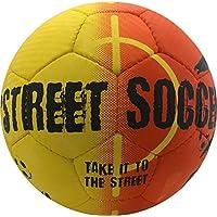 選択ストリートサッカーボール、サイズ4.5、オレンジ/ブラック