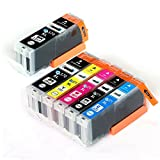 CANON / キヤノン キャノン 互換インクカートリッジ インクタンク BCI370XL (BK ブラック) + BCI371XL (BK ブラック / C シアン/ M マゼンダ/ Y イエロー) 5色マルチパック (大容量) +BCI370XL (BK ブラック)1本 残量表示機能対応 ICチップ付 安心保証1年 eBARONGオリジナル PIXUS MG7730F, PIXUS MG7730, PIXUS MG6930, PIXUS MG5730